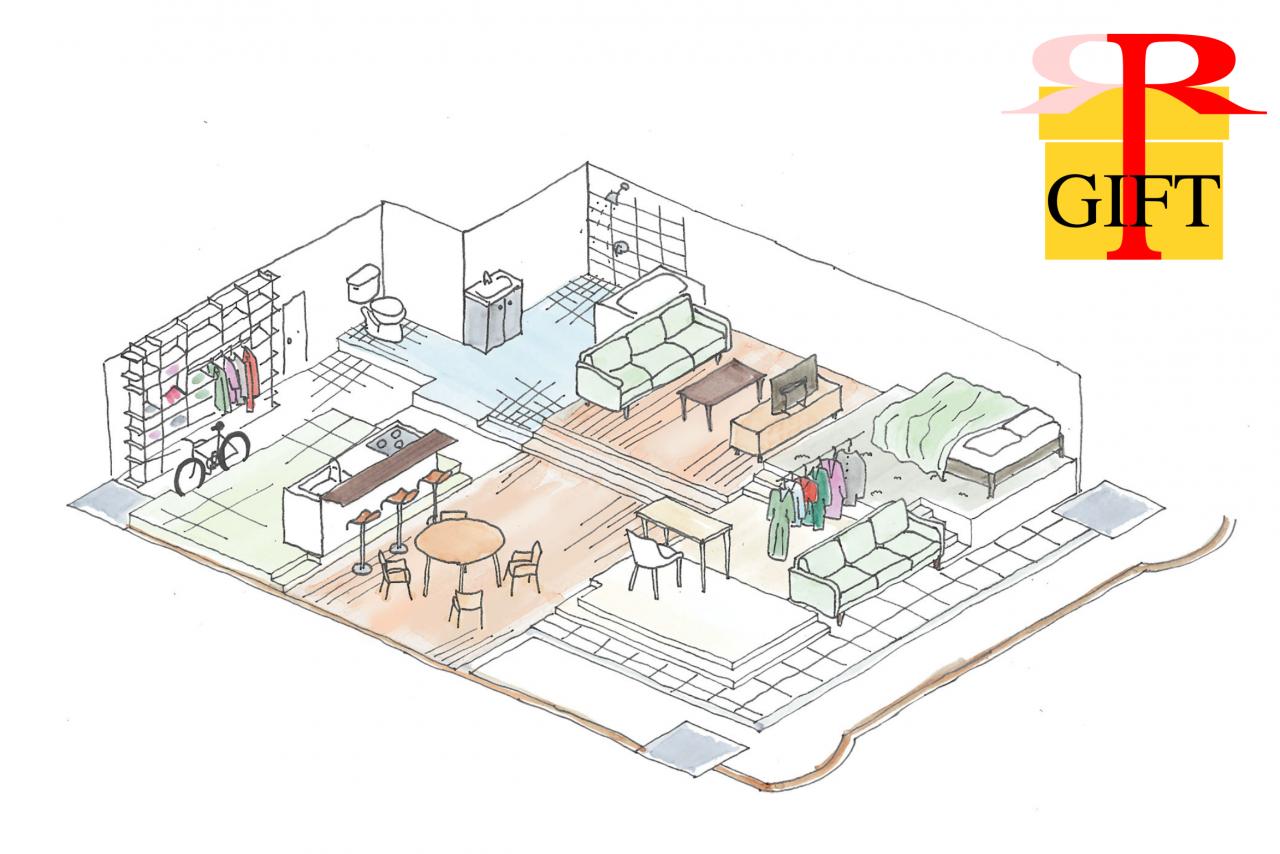 \NEW!!!/「GIFT」建築家と0からつくる フルスケルトンマンション